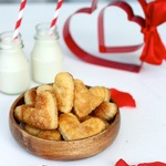 Сливочное сырное, карамельное печенье