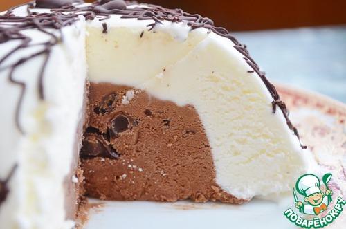 """Мороженое """"Двойная шоколадная бомба"""""""