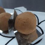 Трюфели с карамелью и шоколадом