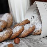 Орехово-ржаное печенье