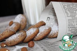 Орехово-ржаное печенье простой рецепт с фото