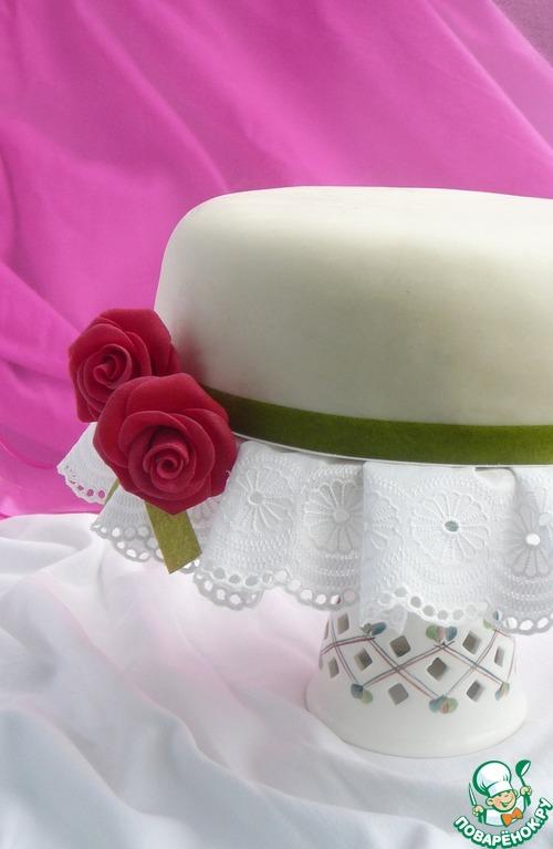 Бисквитный тортик с безе