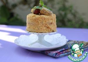 Бисквитное клубнично-сливочное пирожное рецепт приготовления с фото пошагово как приготовить