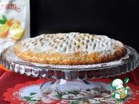 Быстрый пирог с апельсиновым джемом от Юлии Высоцкой ингредиенты