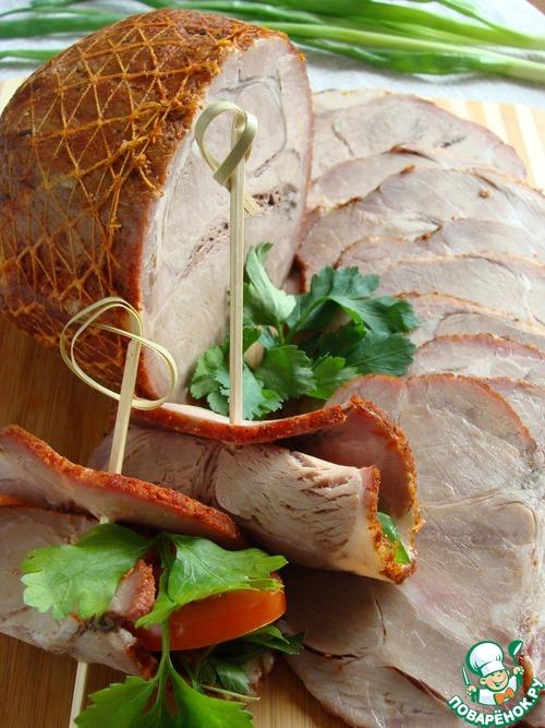 мясо свинины для бутербродов рецепт