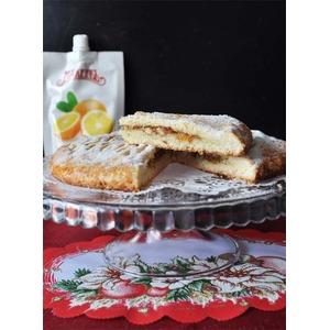 Быстрый пирог с апельсиновым джемом от Юлии Высоцкой
