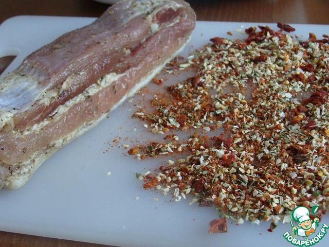 Грудинка солено-печеная рецепт с фото пошагово как приготовить #2