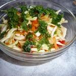 """Салат """"Закусочный"""" из свежей капусты"""