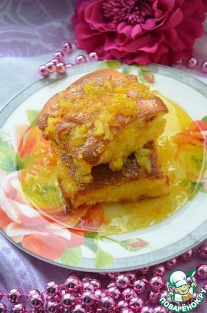 Как приготовить Йогуртовый пирог с цитрусовым сиропом вкусный рецепт приготовления с фото пошагово