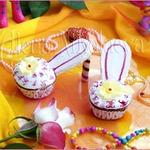 """Капкейки """"Туфельки для маленькой принцессы"""""""