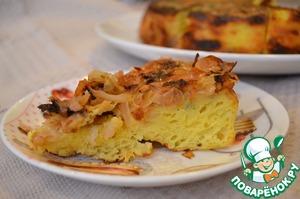 Рецепт Вкусная запеканка с капустой в мультиварке