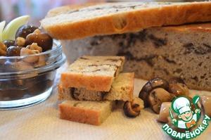 Рецепт Хлеб с сушеными грибами