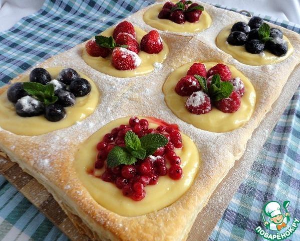 Как сделать пирог с ягодами из теста 785