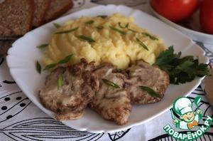 Блюда из говяжьих мозгов с горчицей