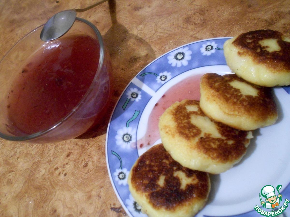 Рецепт: Оладьи из печени на m 45