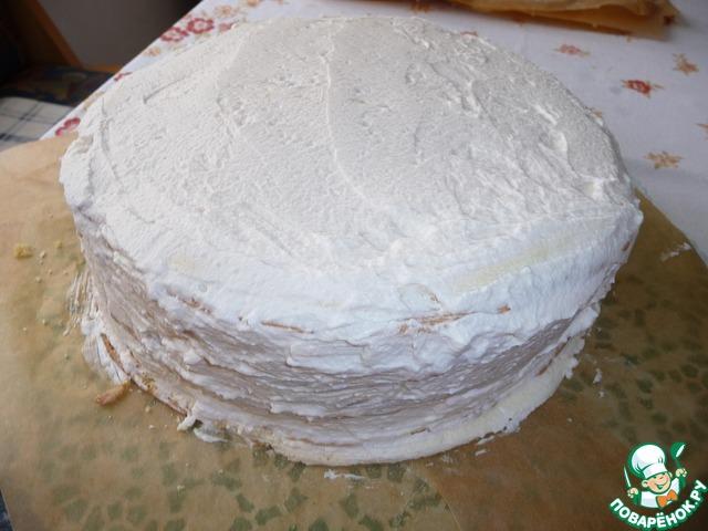 Торт нежность с безе рецепт с пошагово в домашних условиях