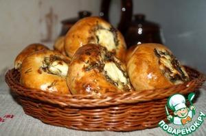 Кныши белорусские смачные. С гречнево-картофельно-луково-грибной начинкой. :)