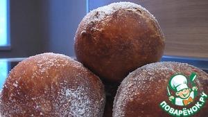Московские пончики простой пошаговый рецепт с фотографиями готовим