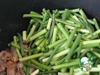 Баранина, тушёная с чесночными стрелками, по-Ошски ингредиенты