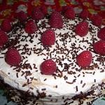 """Торт """"Нежный"""" с безе"""