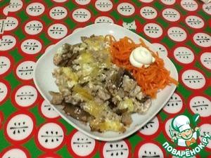 Как приготовить Картофельная запеканка с мясным фаршем и грибами рецепт приготовления с фото