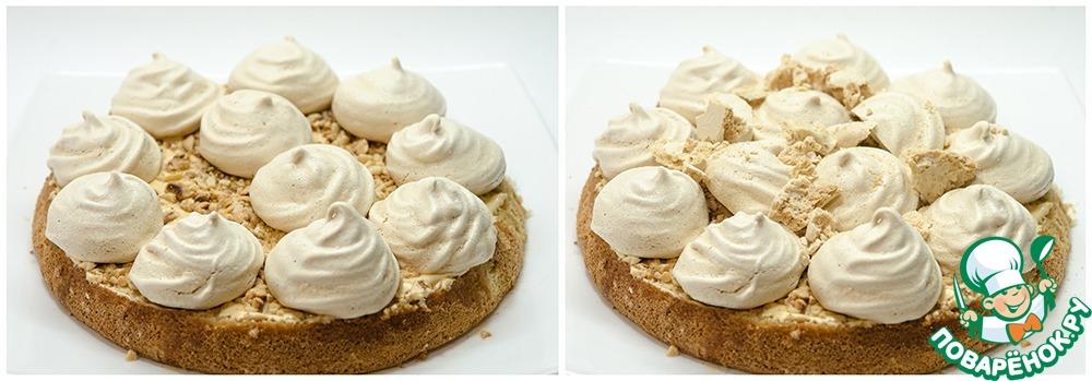 Бисквитные торты с безе