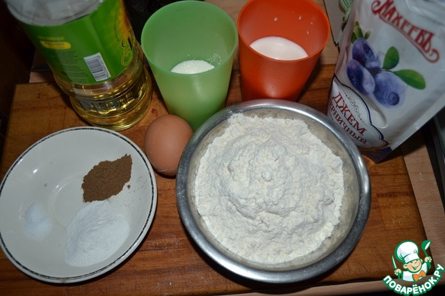 Маффины с джемом рецепт с фото пошагово