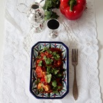 Рагу с овощами и курицей карри