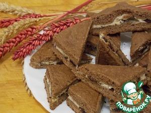 Как готовить домашний рецепт с фотографиями Шоколадное печенье с творожной начинкой