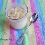 Банановый йогурт (домашний)