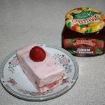 Пирожные с клубничным вкусом