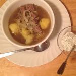 Суп Лывжа с говядиной