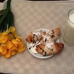 """Постные рогалики """"Весенний завтрак"""""""