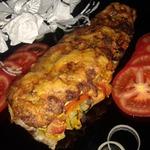 Сельдь, запеченная с овощами под сырной корочкой