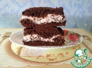 """Шоколадно-малиновый пирог """"Мгновение"""""""