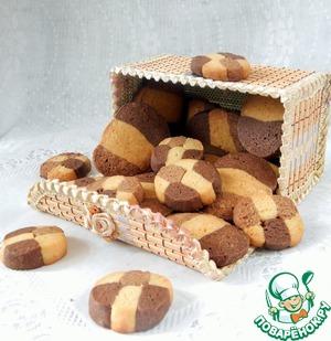 саксонское печенье рецепт с фото