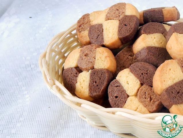 печенье 3 шоколада рецепт с фото