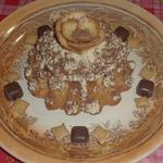 Маковый кекс с черносмородиновым джемом