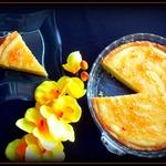 Творожный тарт с лимонным джемом