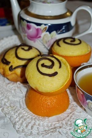 Апельсиновые кексы вкусный пошаговый рецепт с фотографиями