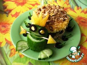 Рецепт Царевна-лягушка