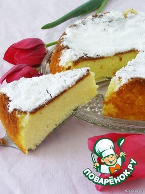 Рецепт Творожно-манный пирог в мультиварке