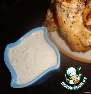 Рецепт Белый соус с огурцом