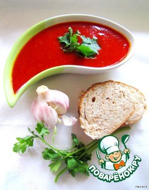 Рецепт Острый томатно-чесночный соус