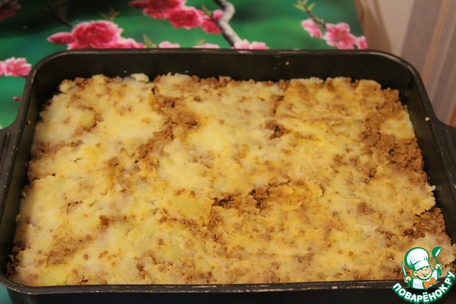 Картофельная запеканка с помидорами рецепт фото