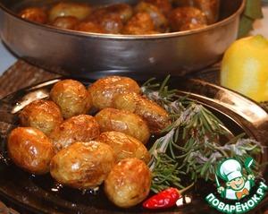 Картофель в средиземноморском стиле
