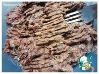 Намазка бутербродная из красной фасоли и сайры в масле ингредиенты