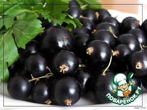 Рецепт Варенье-желе из черной смородины