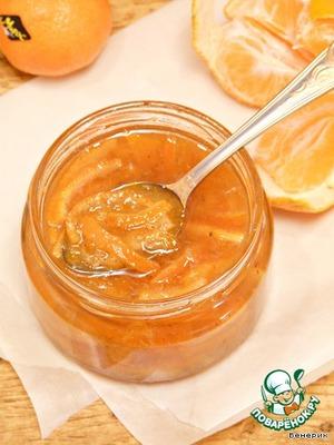 Рецепт Мандариновое варенье с ванильным ароматом