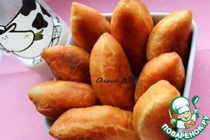 Пирожки из дрожжевого теста с капустой вкусный рецепт приготовления с фотографиями пошагово готовим